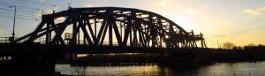 Spoorbrug over de IJssel bij Zutphen